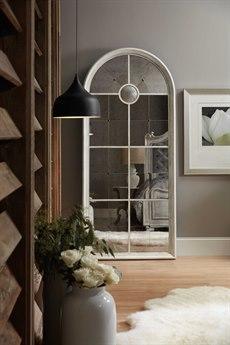 Hooker Furniture Arabella White 36''W x 82''H Floor Mirror