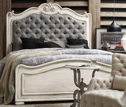 Hooker Furniture Arabella White King Panel Bed