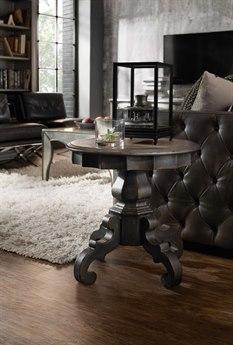 Hooker Furniture Arabella Gray 24'' Wide Round Pedestal Table