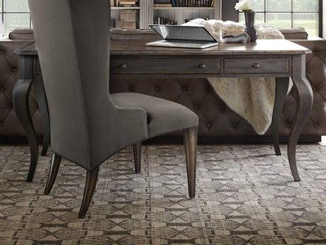 Hooker Furniture Arabella Gray 66''W x 28''D Rectangular Secretary Desk
