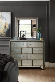 Hooker Furniture Arabella Triple Dresser with Wall Mirror