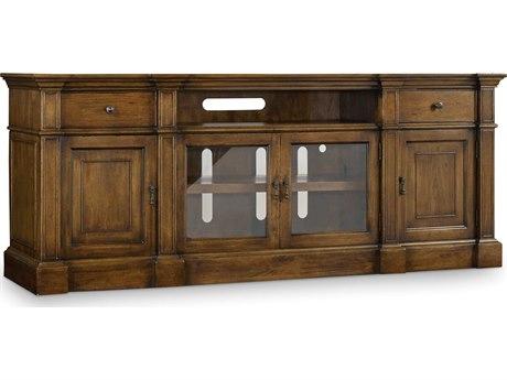 Hooker Furniture Archivist Dark Wood 85''L x 22''W Rectangular Entertainment Console HOO544755485