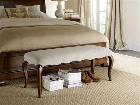 Hooker Furniture Archivist Beige Accent Bench HOO544790019
