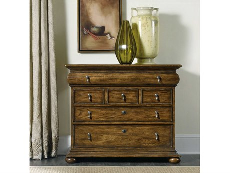 Hooker Furniture Archivist Dark Wood 38''W x 19''D Accent Chest