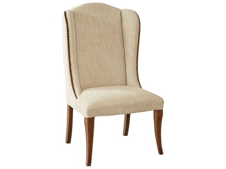 Hooker Furniture Archivist Medium Wood Dining Side Host Chair (Sold In 2)