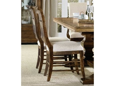 Hooker Furniture Archivist Dark Wood Side Dining Chair HOO544775710