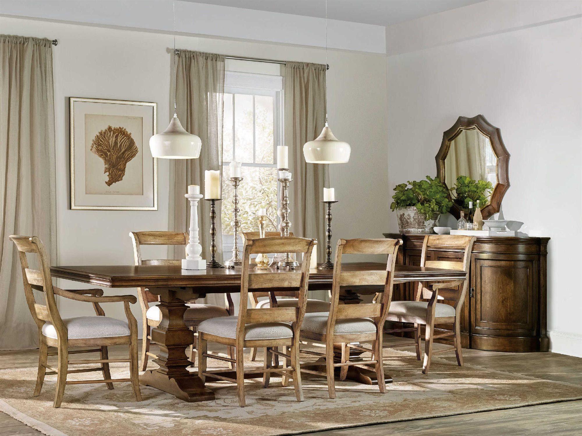 Hooker Furniture Archivist Dining Room Set | HOO544775206SET