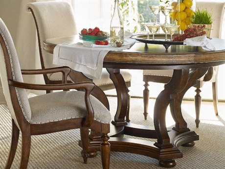 Hooker Furniture Archivist Toffee 54'' Wide Round Dining Table