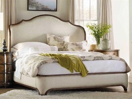 Hooker Furniture Archivist Beige King Size Shelter Bed HOO544790866