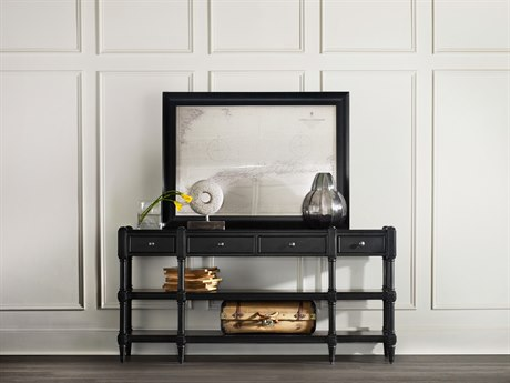 Hooker Furniture Ashton Black 66''L x 14''W Rectangular Console Table