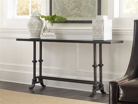 Hooker Furniture Auberose Soft Charcoal 72''W x 14''D Rectangular Console Table