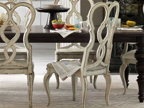 Hooker Furniture Auberose Antique White Side Dining Chair