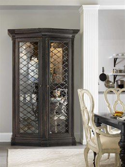 Hooker Furniture Auberose Soft Charcoal China Cabinet HOO159575906LTBK