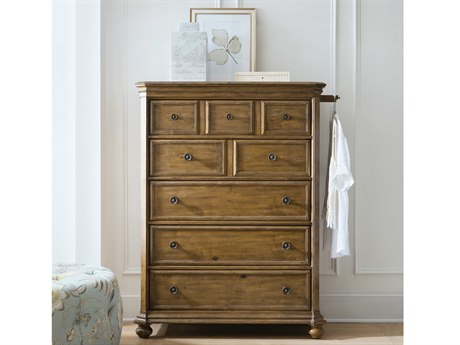 Hooker Furniture Ballantyne Medium Wood Five-Drawers Chest of Drawers
