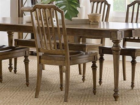 Hooker Furniture Ballantyne Medium Wood Side Dining Chair (Sold in 2)