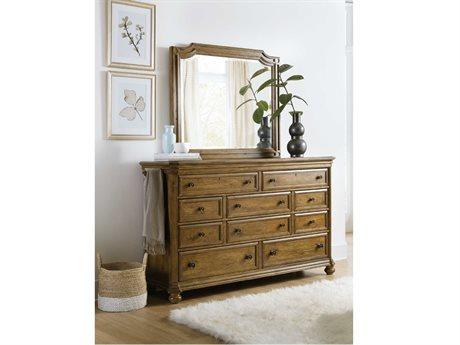 Hooker Furniture Ballantyne  Double Dresser with Mirror