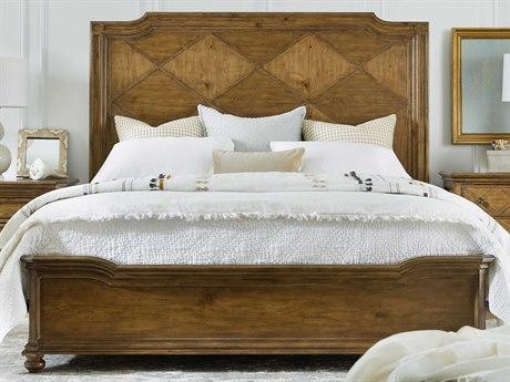 Hooker Furniture Ballantyne Medium Wood Queen Panel Bed