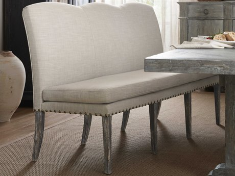 Hooker Furniture Beaumont Dark Wood / Antwerp Linen Side Dining Chair