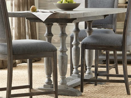 Hooker Furniture Beaumont Gray 60'' Wide Rectangular Counter Height Dining Table HOO57517520695