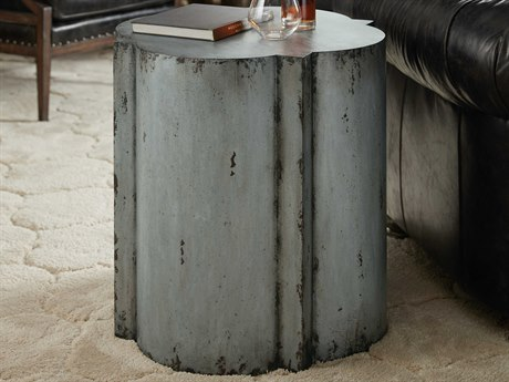 Hooker Furniture Beaumont Gray 24'' Wide Drum Table