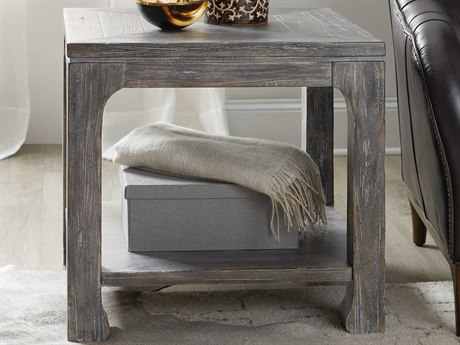 Hooker Furniture Beaumont Dark Wood 26'' Wide Square End Table