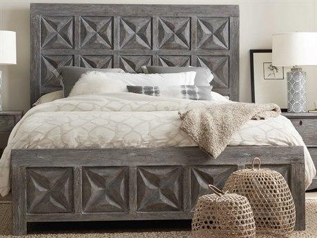 Hooker Furniture Beaumont Dark Wood California King Panel Bed