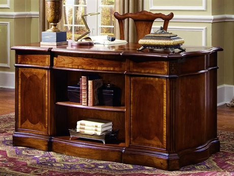 Hooker Furniture Belle Grove Rich Cherry 60''L x 30''W Rectangular Executive Desk HOO06010460