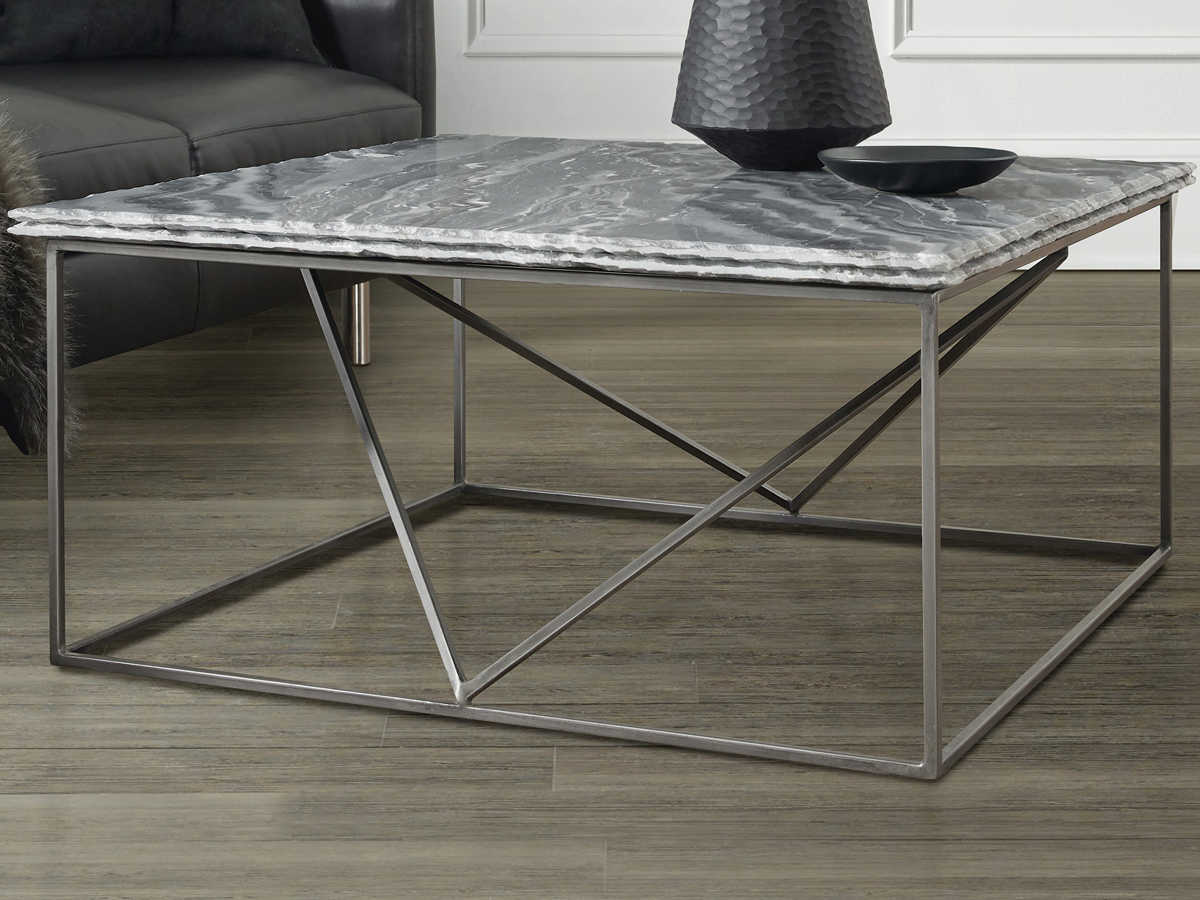 - Hooker Furniture Besties Gray Marble / 36'' Wide Rectangular Coffee Table  5654-80110-GRY