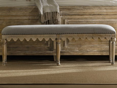 Hooker Furniture Boheme Light Wood Accent Bench HOO575090019MWD