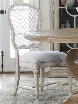 Hooker Furniture Boheme Antique Gray White Side Dining Chair