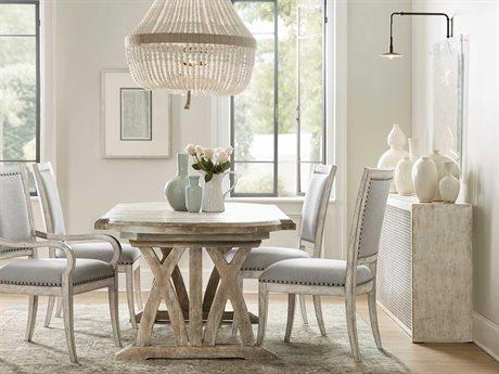 Hooker Furniture Boheme Light Brown 88 Wide Oval Dining Table Hoo575075200mwd