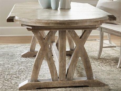 Hooker Furniture Boheme Light Brown 88'' Wide Oval Dining Table