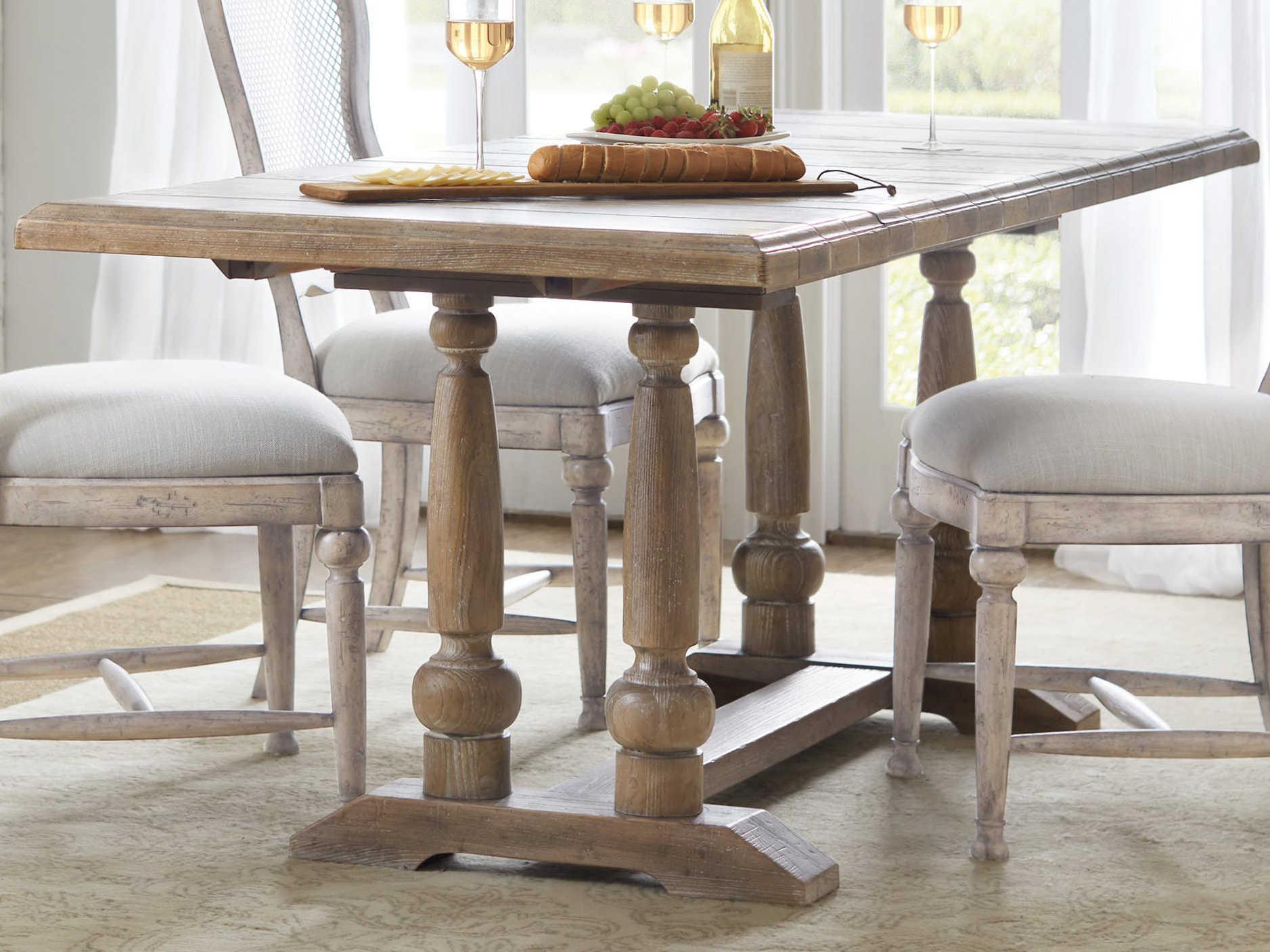 Hooker Furniture Boheme Light Wood 60 Wide Rectangular Dining Table Hoo575075206mwd