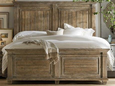 Hooker Furniture Boheme Light Wood King Panel Bed