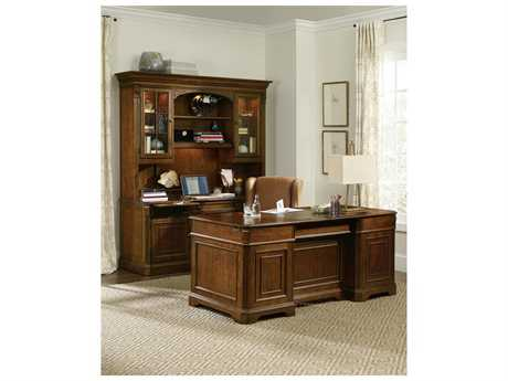 Hooker Furniture Brookhaven Home Office Set HOO28110583SET