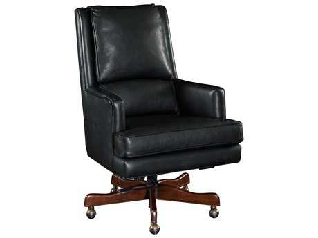 Hooker Furniture Carilion Tune Dark Wood Executive Swivel Chair HOOEC387099