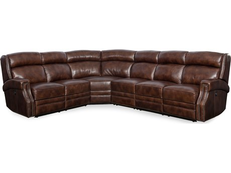Hooker Furniture Carlisle Four-Piece Power Sectional Sofa