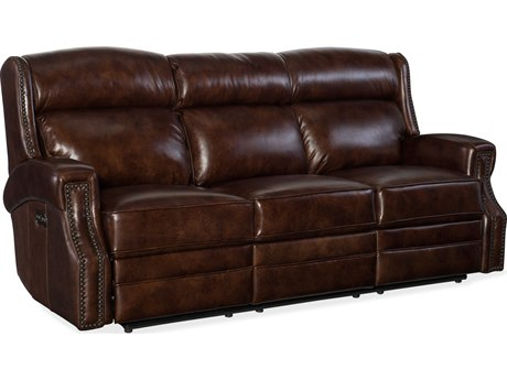 Hooker Furniture Carlisle Chocolate Sofa Couch