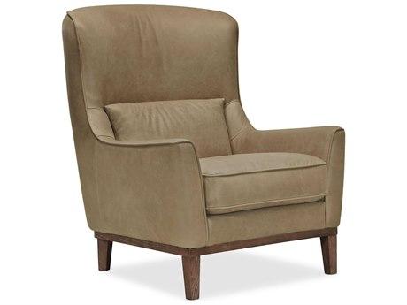 Hooker Furniture Cc Saddlebag Stone / Medium Wood Chair