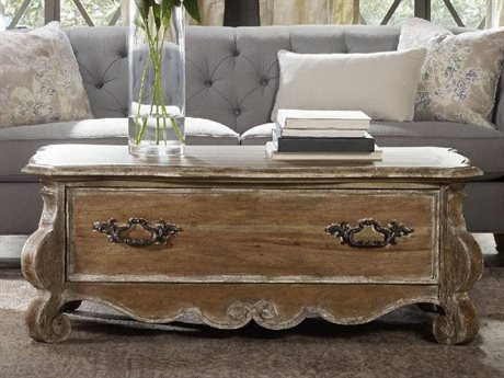 Hooker Furniture Chatelet Pecky Pecan 54''L x 32''W Rectangular Cocktail Table