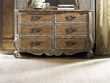 Hooker Furniture Chatelet Pecky Pecan Double Dresser