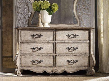 Hooker Furniture Chatelet Paris Vintage Double Dresser