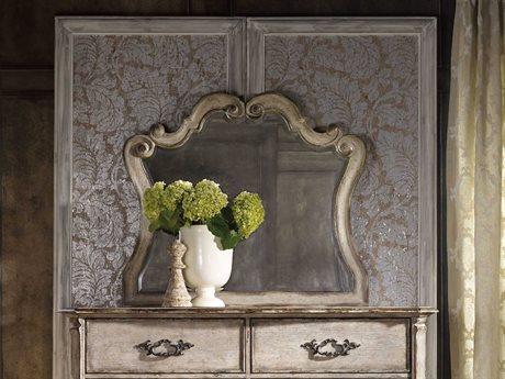 Hooker Furniture Chatelet Paris Vintage 46''W x 40''H Landscape Dresser Mirror HOO535090009