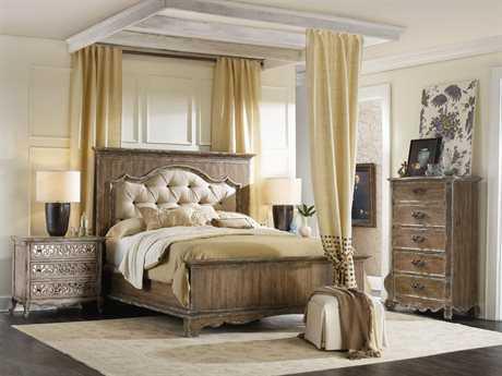 Hooker Furniture Chatelet Upholstered Panel Bed Bedroom Set