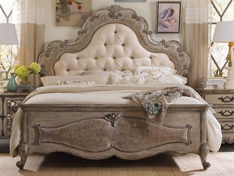 Hooker Furniture Chatelet Antique Linen Queen Size Panel Bed HOO545090850