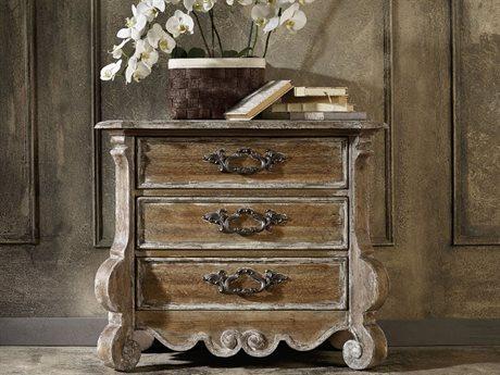 Hooker Furniture Chatelet Pecky Pecan 36''W x 19''D Rectangular Nightstand HOO530090016