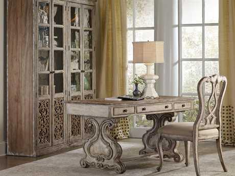 Hooker Furniture Chatelet Trestle Home Office Set HOO535010459SET