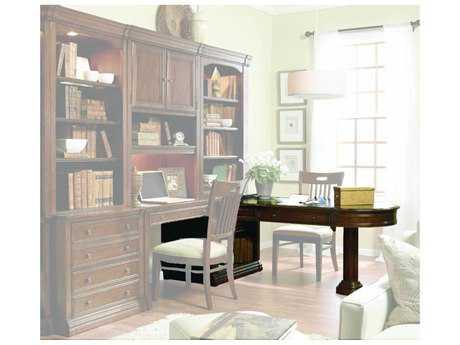 Hooker Furniture Cherry Creek Light Distressed Medium Brown 82''L x 32''W Rectangular Computer Desk HOO25870424