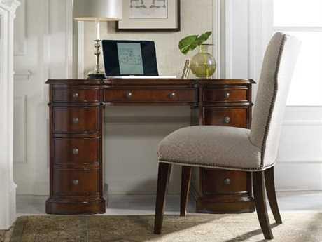 Hooker Furniture Cherry Knee-Howl Desk-Bow Front Home Office Set HOO29910301SET