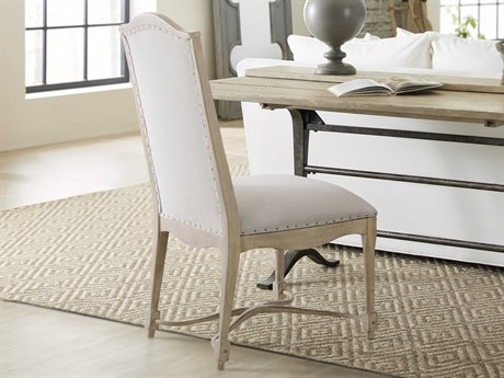 Hooker Furniture Ciao Bella Tuscan White / Light Wood Side Dining Chair (Sold in 2)